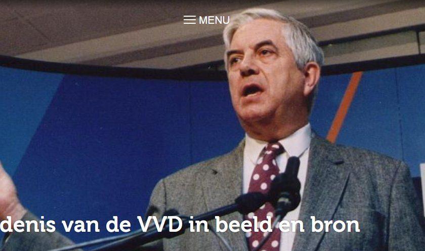Geschiedenis van de VVD in Beeld en Bron.