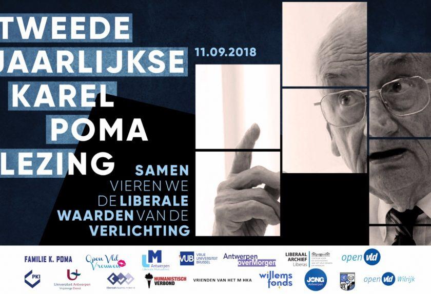 Tweede jaarlijkse Karel Poma-lezing had plaats op 11 september 2018: Verlichting als levenskunst.