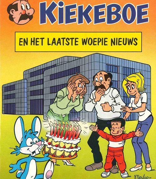 Striperfgoed Het Laatste Nieuws en Uitgeverij J. Hoste.