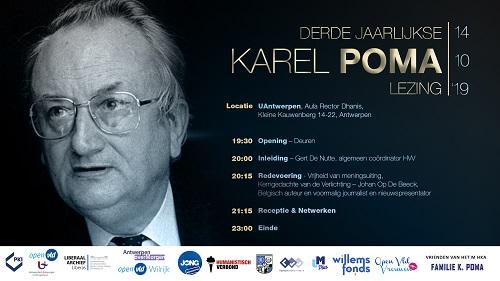 3de Karel Poma-lezing