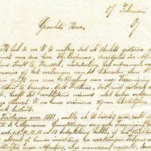 Digitaliseren van de briefwisseling van het Willemsfonds (1862-1914)