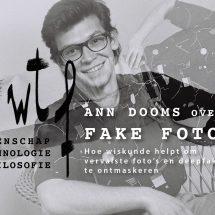 FAKE FOTO'S: hoe wiskunde helpt om vervalste foto's en deepfakes te ontmaskeren