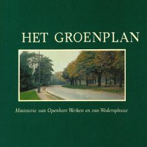 Het groenplan van Omer Vanaudenhove