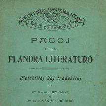 Esperanto, een kunstmatige wereldtaal