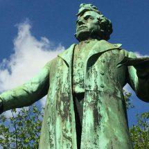 Liberale standbeelden in Brussel