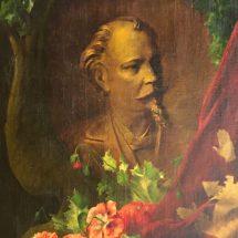 Een geschilderd portret van Jan Van Rijswijck